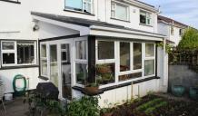 Sun room extension in Oranmore